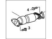 Honda Catalytic Converter - 18160-RAA-A00