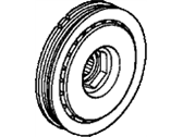 Honda Accord Crankshaft Pulley - 13810-RCA-A01