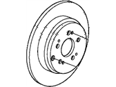 Honda Pilot Brake Disc - 42510-TK8-A01