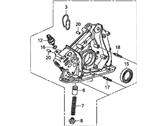 Honda 15100-R70-A02 Pump Assy., Масло