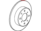 Honda Prelude Brake Disc - 45251-SF0-000