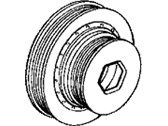 Honda Accord Crankshaft Pulley - 13810-PEA-007