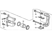 Front Right Genuine Honda 45018-SDP-A01RM Caliper Sub-Assembly