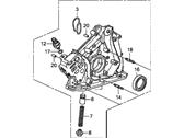 Honda 15100-R70-A11 Насос для насосов., Масло