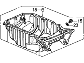 Honda CR-V Oil Pan - 11200-REZ-A00