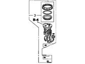 Genuine Honda 17047-SWA-A00 Meter