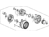 Honda Alternator - 31100-RTA-033