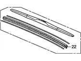 Honda Civic Wiper Blade - 76620-SNA-A12