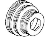 Honda Del Sol Crankshaft Pulley - 13810-P26-003