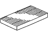 Honda Cabin Air Filter - 80292-S5D-A01