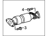Honda Catalytic Converter - 18160-RAA-A11