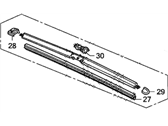 Honda Civic Wiper Blade - 76630-SVA-A04