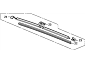 Honda Civic Wiper Blade - 76620-SVA-A03