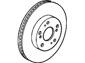 Honda Prelude Brake Disc - 45251-SZ3-000
