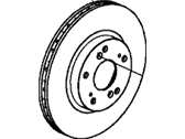 Honda Fit EV Brake Disc - 45251-TA0-A01