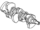 Honda Accord Hybrid Crankshaft - 13310-RCJ-A00