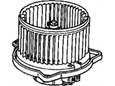 Honda Accord Blower Motor - 79310-S84-A01