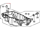 Honda CR-V Oil Pan - 11200-5LA-A00