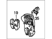 Honda Trunk Latch - 74851-S5A-A02