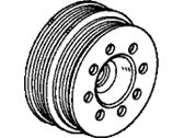 Honda Del Sol Crankshaft Pulley - 13811-P00-T00