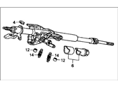 Honda Accord Steering Column - 53200-SM4-A05
