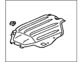Honda Insight Engine Cover - 74119-S3Y-000