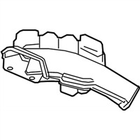 Honda Pilot Air Duct - 17243-RLV-A00