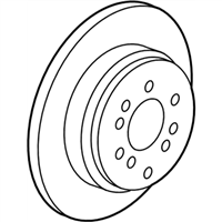 Honda Pilot Brake Disc - 42510-TG7-A00