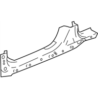 Honda 04631-TVA-A10ZZ Panel, R. Side Sill
