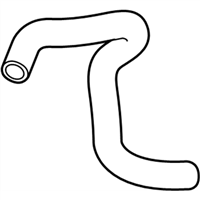 Honda Passport Radiator Hose - 19504-5J2-A50