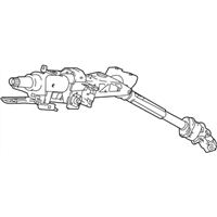 Honda Accord Hybrid Steering Column - 53200-TVA-A03
