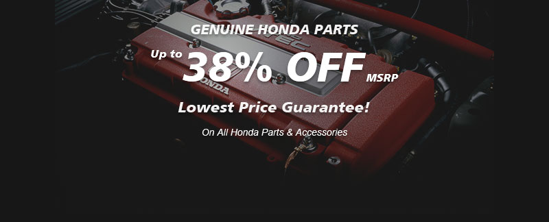 Genuine Prelude parts, Guaranteed low prices